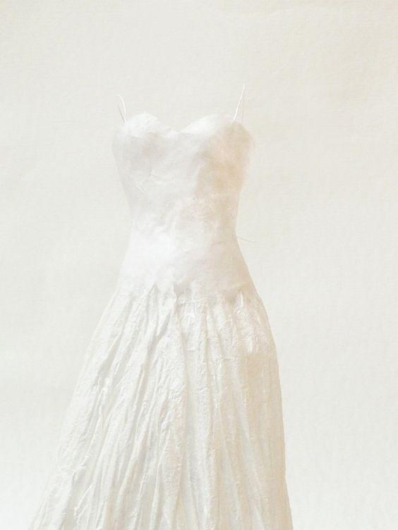 Doll paper dress