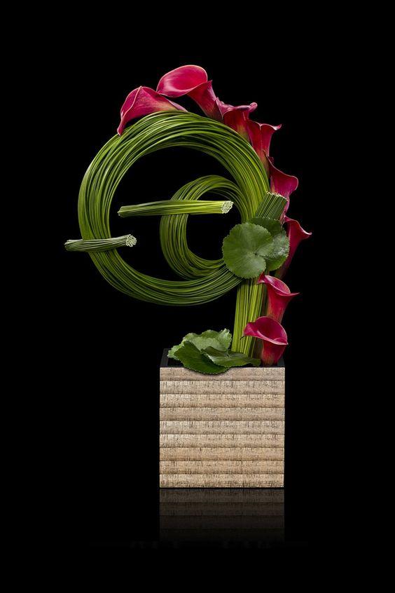 Decor Events Armani Fiori Floral Art Arrangements Creative Flower Arrangements Floral Art Design
