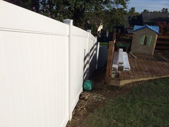 How about vinyl fencing