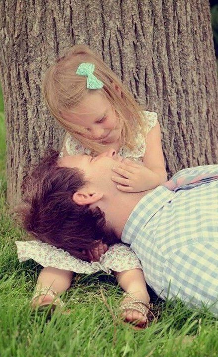 """Her squeaky little voice, """"Daddy, your nose is funny."""" And all he can say back is, """"Lux baby, you're beautiful."""" ~JH"""