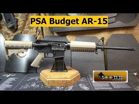 Psa Freedom Ar Best Budget Option Youtube Budgeting Best Budget Psa