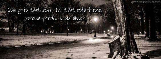 Imagenes De Amor Con Frases Tristes Para Portada De Facebook