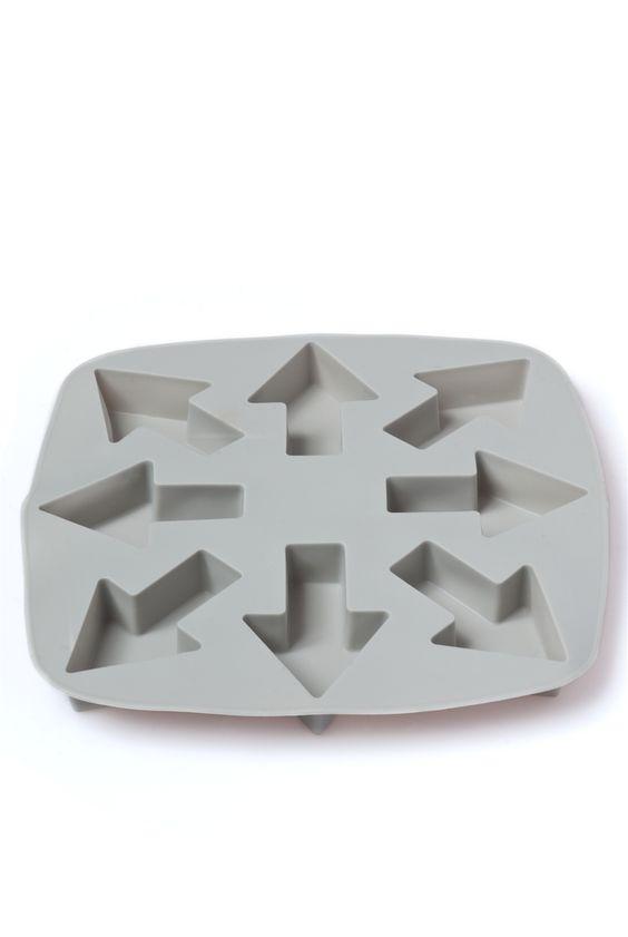 Cubetera silicona flecha - - Cocktail - Almacen de Belleza