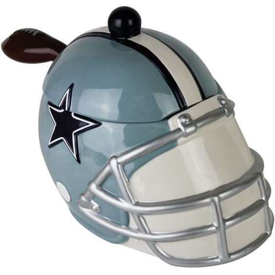 Football watching party: Soup servered in a Dallas Cowboys Soup Tureen