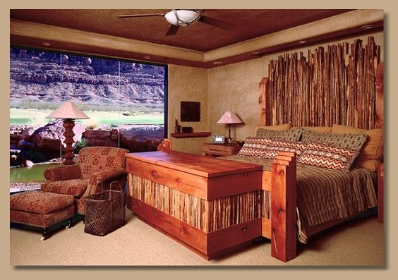 Southwest Style Bedroom Furniture | Beds, Dressers and Nightstands
