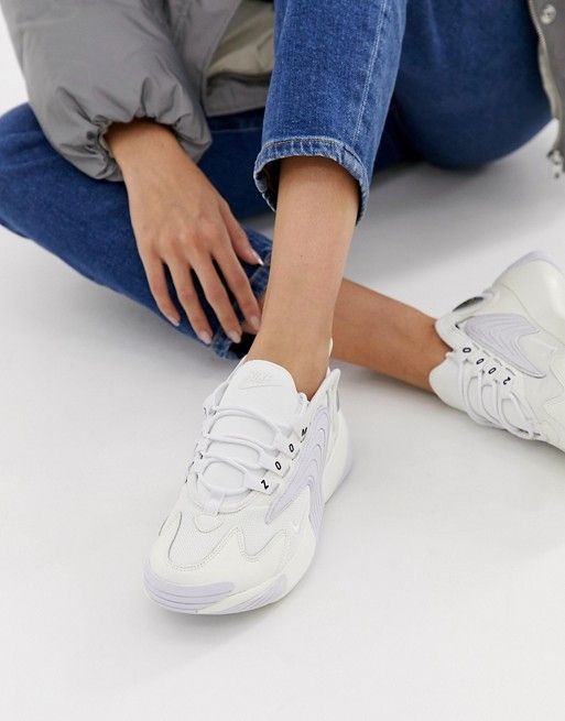 really comfortable reasonable price unique design Nike Zoom 2K sneakers in white in 2019 | Nike zoom, Nike ...