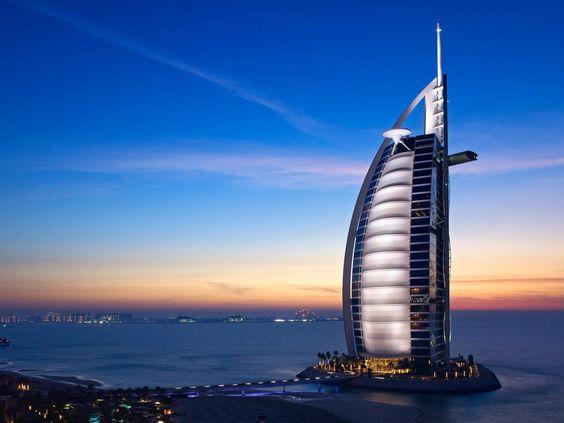 este es el hotel mas caro del mundo ubicado en Dubai ademas esta increible