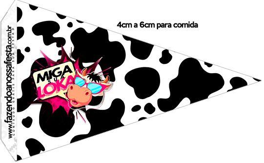 Bandeirinha Sanduiche Miga sua Loka