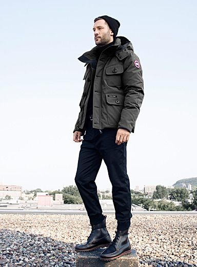 Canada Goose montebello parka replica discounts - Canada Goose Men's Macmillan Slim Fit Hooded Parka | Jacket, Coat ...