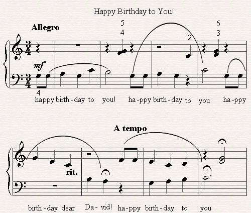 Sheet Music, Birthdays And Happy On Pinterest