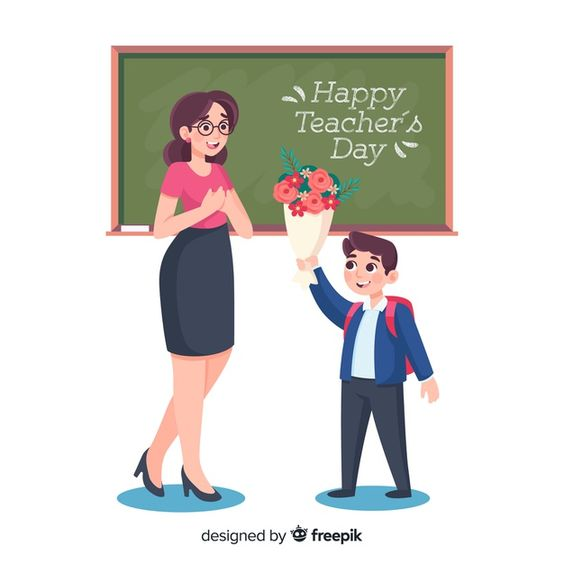 Download Flat Design World Teacher S Day Background For Free