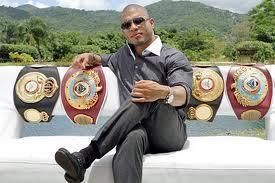 Miguel Cotto from Puerto Rico 4 times World Champion.