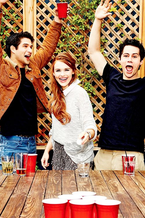 Dylan O'Brien, Tyler Posey and Holland Roden for Entertainment Weekly!