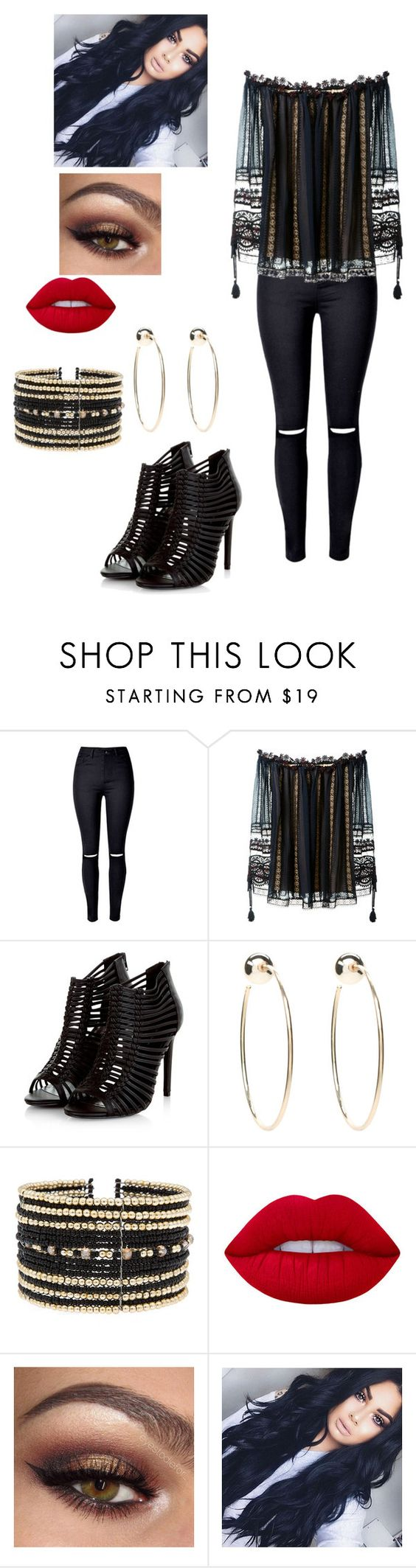 """Başlıksız #26"" by son-gul ❤ liked on Polyvore featuring Chloé, Bebe, Eloquii and Lime Crime"