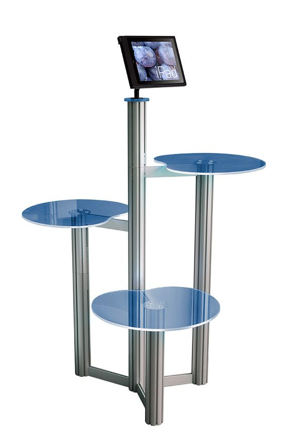 Used Exhibition Stand For Sale : Ipad pos point of sale display stand showcase your