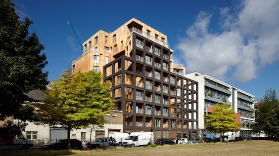 The Cube | Hawkins/Brown | London (UK) | The highest wooden building in Europe