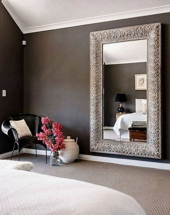 100 Must See Wall Mirror Ideas For Your Home Decor Mirror Wall Bedroom Big Mirror In Bedroom Wall Mirror Decor Living Room