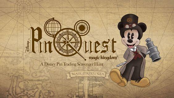 PinQuest Coming To The Magic Kingdom