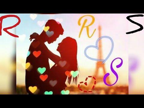 Rs Letter Full Screen Whatsapp Status Rumantic Song