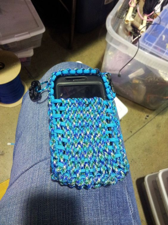 Cell phone cases paracord and phone cases on pinterest for Paracord case