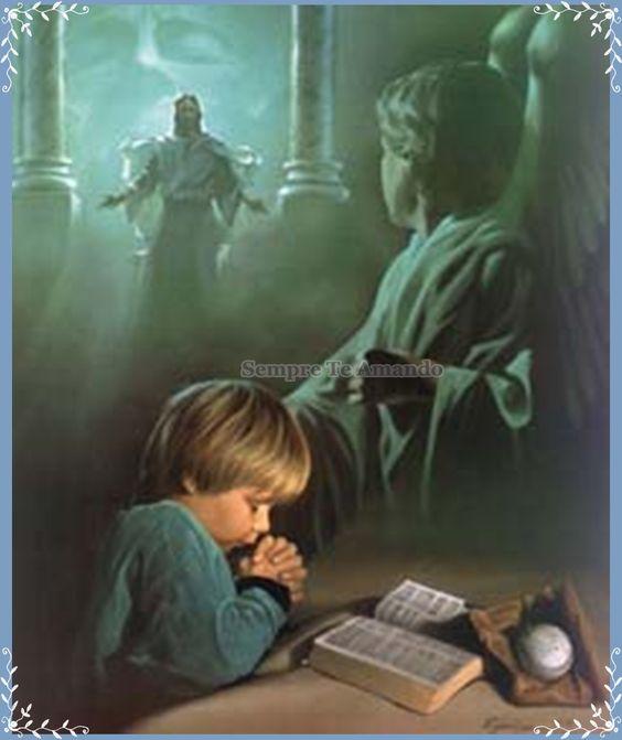 A oração nos mantem ligados a Deus