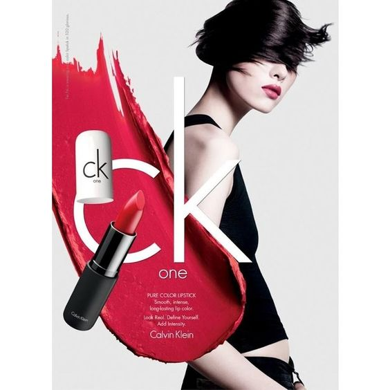 ASIAN MODELS BLOG AD CAMPAIGN Sun Fei Fei for ck one color cosmetics,... ❤ liked on Polyvore