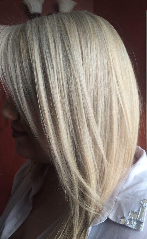 natural level 5 to icy silver blonde formula goldwell