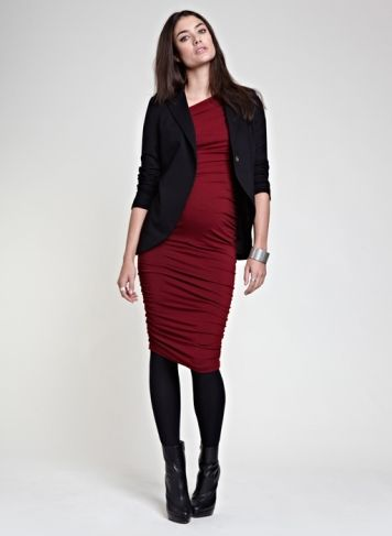 The Everyday Blazer | Jacket | Isabella Oliver Maternity    #HolidayStyle12: