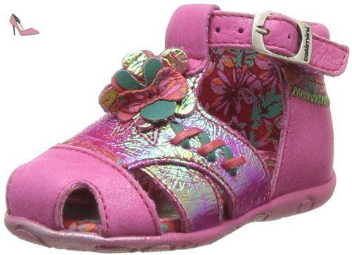 Catimini Callune, Chaussures premiers pas bébé fille - Rose (47 Ctv Fushia Dpf/Gluk), 22 EU