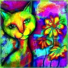 Mosaic Kitty