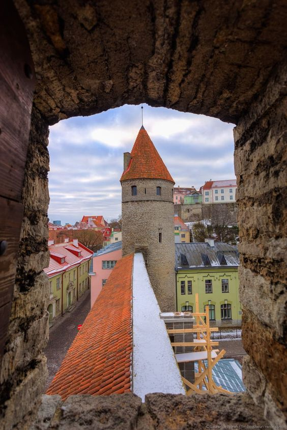 Medieval city walls - Why Tallinn, Estonia need to be on your Europe bucket list.