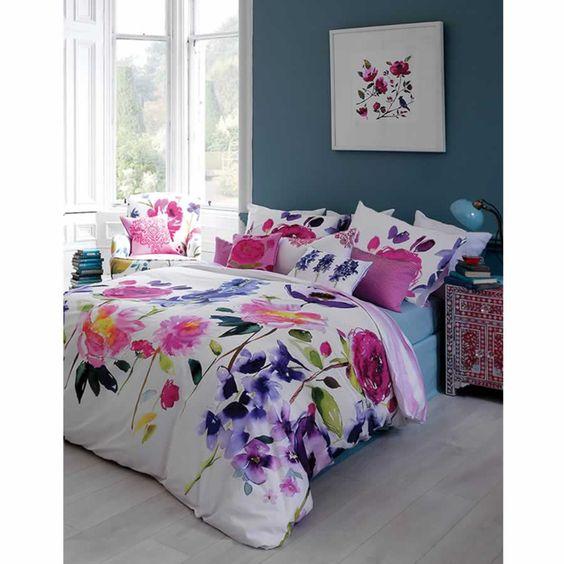 Taransay duvet cover from Bluebellgray.com. A Scottish textile design company.: