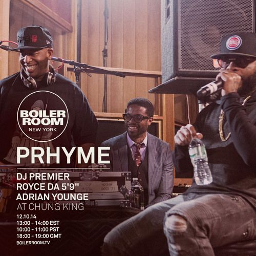 This Recording Is Available To Download Here Http X2f X2f Boilerroom Tv X2f Recording X2f Prhyme X2f Dj Premier Adrian Younge Live Set