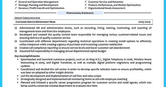 Cool Information and Facts for Your Best Call Center Resume Sample - call center resume