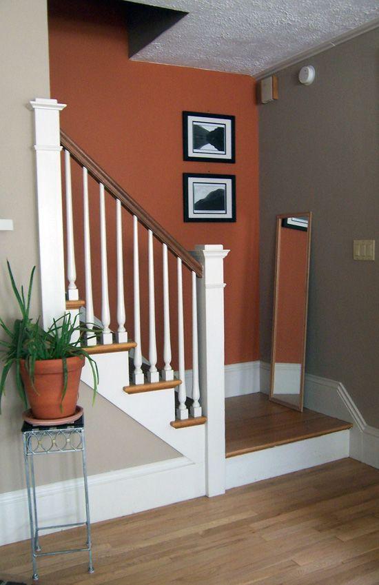 accent walls zero interior paint paint walls powder rooms copper. Black Bedroom Furniture Sets. Home Design Ideas