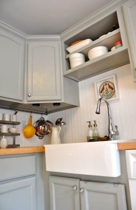 24 Best Ideas Farmhouse Sink With Butcher Block Grey Cabinets