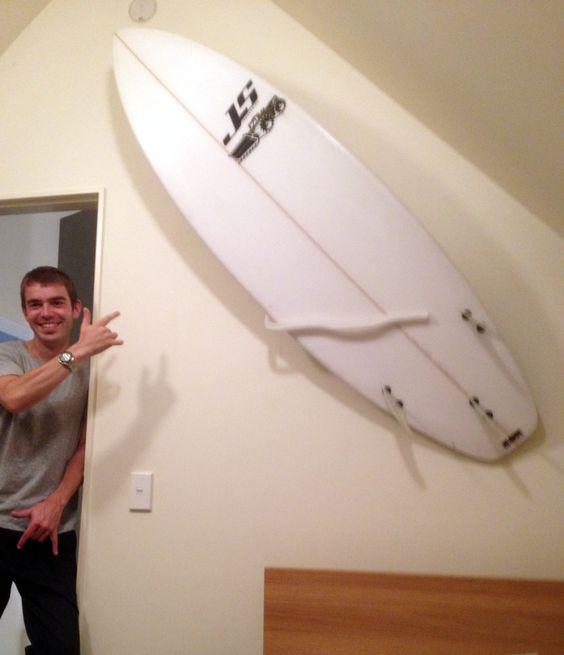 pro surfboard wall mount with multiple display options u2014 surfboard wall mounts from mountit specialists in wall mounted surfboard racks pinterest