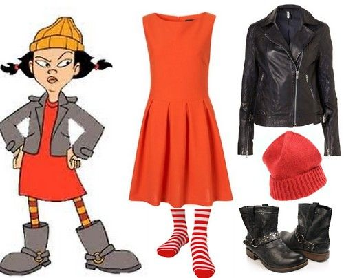 Spinelli from Recess Costume Idea for 90s party