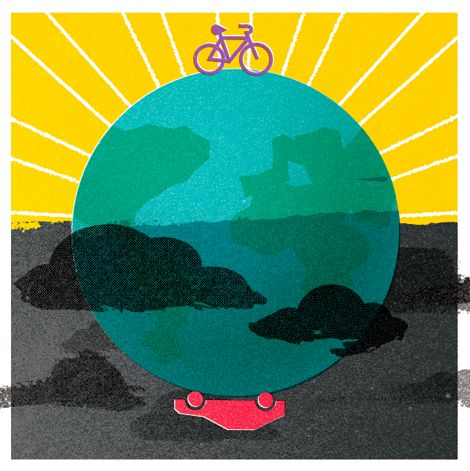 Work by Gavin Potenza (via Grain Edit) #GavinPotenza #bike