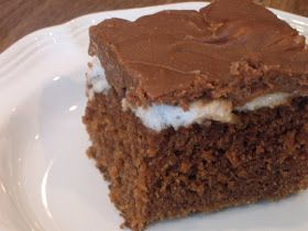 *if i could...*: Scrumdiddlyumptious Cake (also known as Coca-Cola Cake)