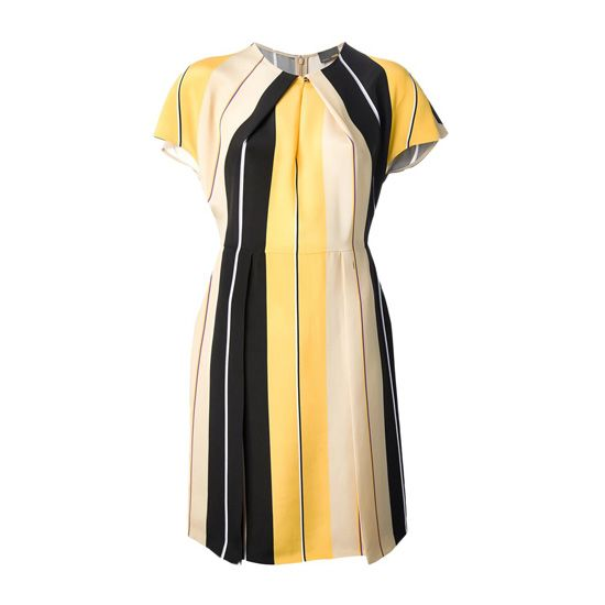 Fendi vertically striped.Summer dress