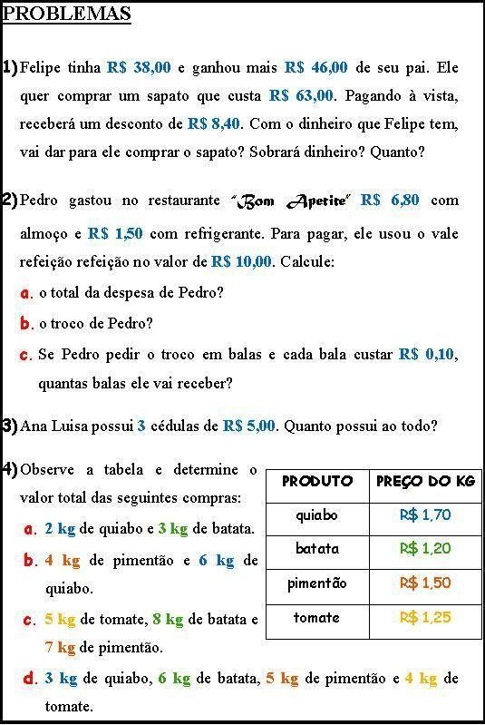 Pin Em Prova Matematica 1 4