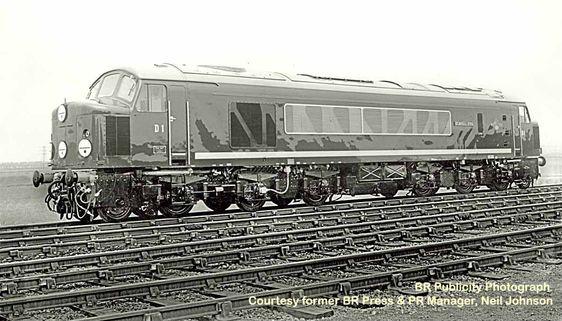 David Heys steam diesel photo collection - 28 - BR LONDON MIDLAND - 2