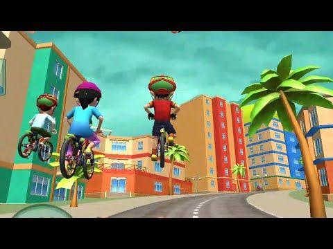 Shiva Bicycle Racing Gameplay Shiva Cycle Race Car Vs Cycle