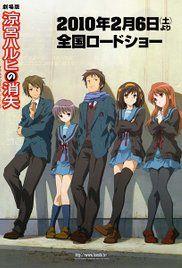 The Disappearance of Haruhi Suzumiya Poster