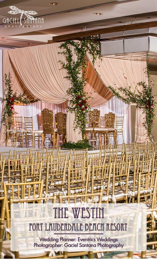 South Asian Wedding Mandap Decor Enchanted Garden Wedding Mandap