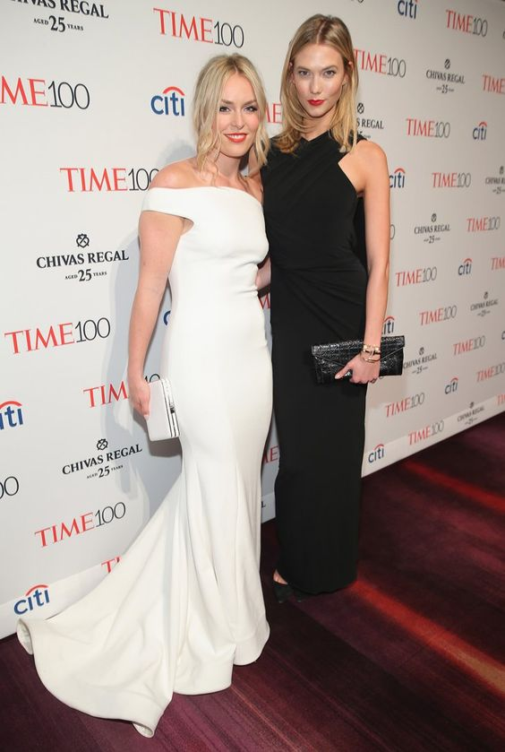 Pin for Later: Le Gala du Time Magazine a Attiré Beaucoup de Célébrités Lindsey Vonn et Karlie Kloss