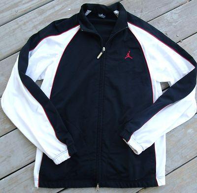 7ccc3b60d56506 Vintage Nike Windbreaker Jacket Large Red White Blk 90s Retro Og Hip... ❤