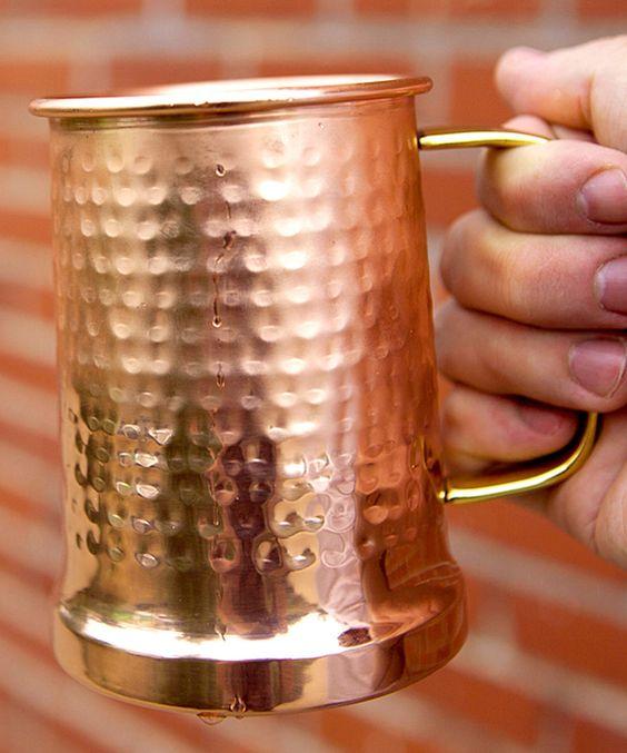 Look what I found on #zulily! Hammered Copper Beer Stein by Alchemade #zulilyfinds