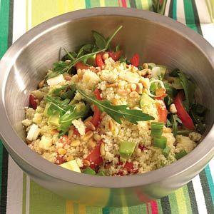 Recept - Couscoussalade met avocado en tomaat - Allerhande